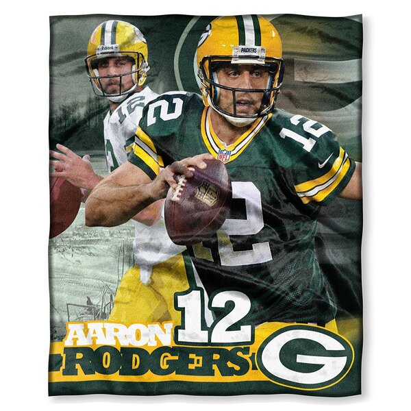 "Aaron Rodgers 50"" x 60"" Silk Touch Throw Blanket"