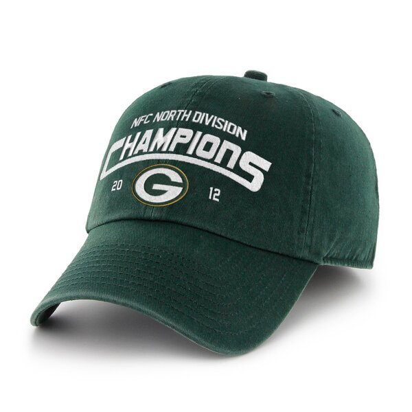 Packers 2012 NFC North Division Champions Cleanup Adjustable Hat