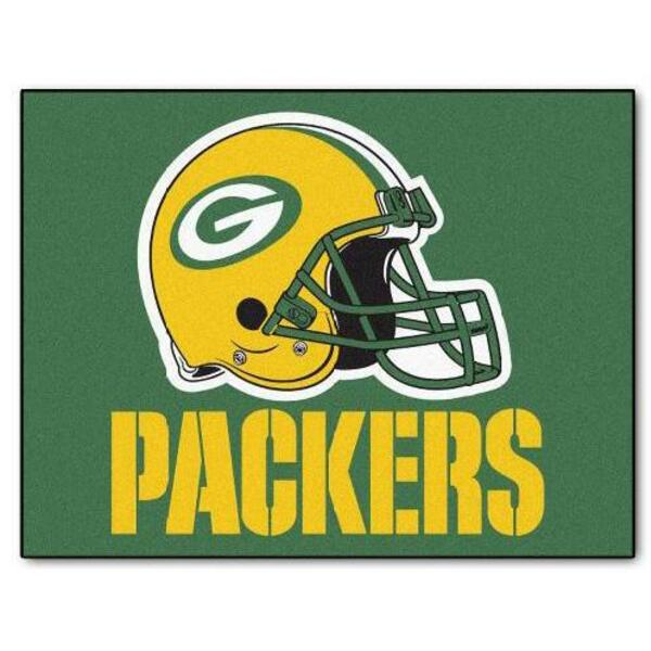 "Packers 34"" x 45"" All-Star Series Area Rug / Mat"