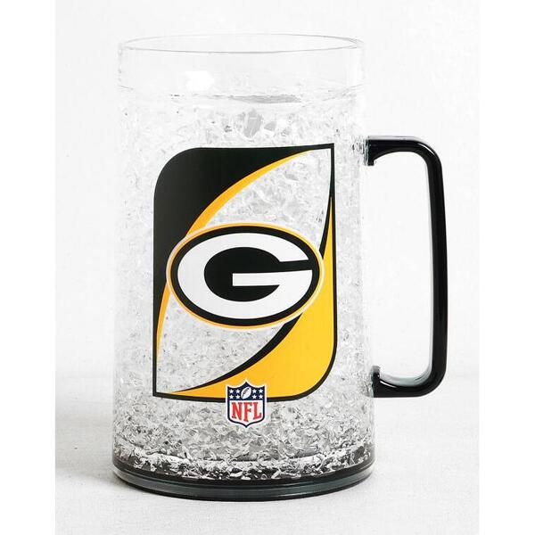 Packers 38-Ounce Crystal Freezer Monster Mug