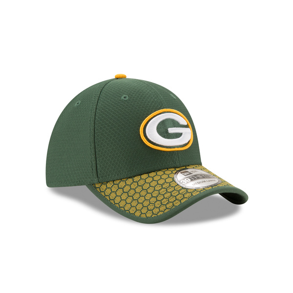 Packers 39THIRTY 2017 OnField Sideline Hat, Green