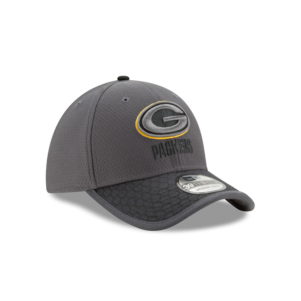 Packers 39THIRTY 2017 Sideline Hat, Graphite