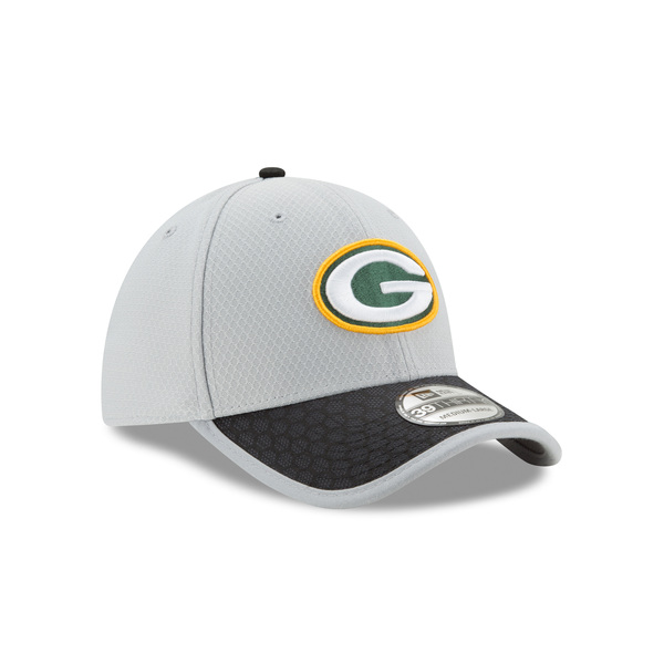 Packers 39THIRTY 2017 Sideline Hat, Grey