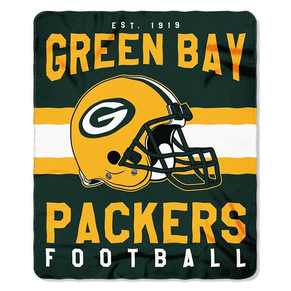 "Packers 50"" x 60"" Singular Printed Throw Blanket"
