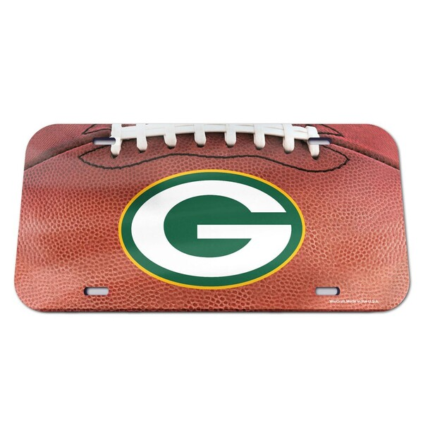 Packers Crystal Mirror License Plate