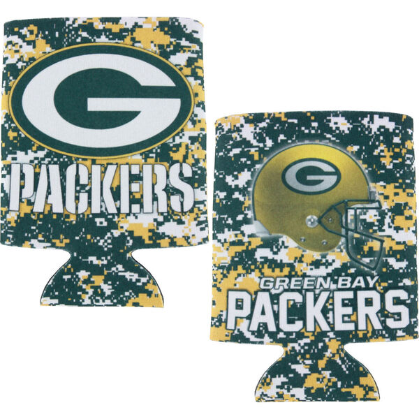 Packers Digi Camo 2FER Can Cooler