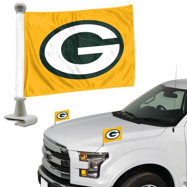 Packers Flag Set 2-Piece Ambassador Style 2019