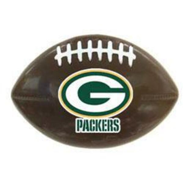 Packers Football Shaped Snack Clip
