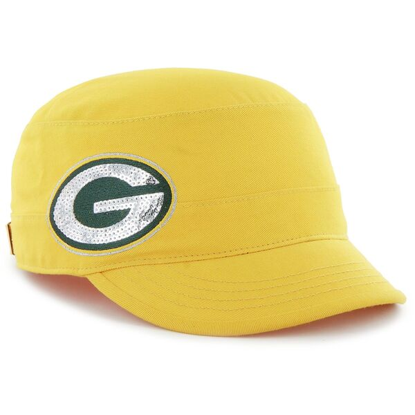 Packers Gold Sparkle Women's Adjustable Fidel Hat