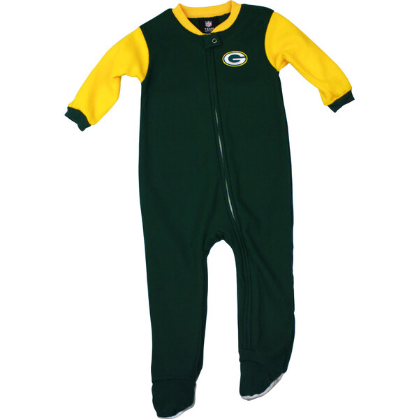 Packers Infant Full Zip Blocked Blanket Sleeper
