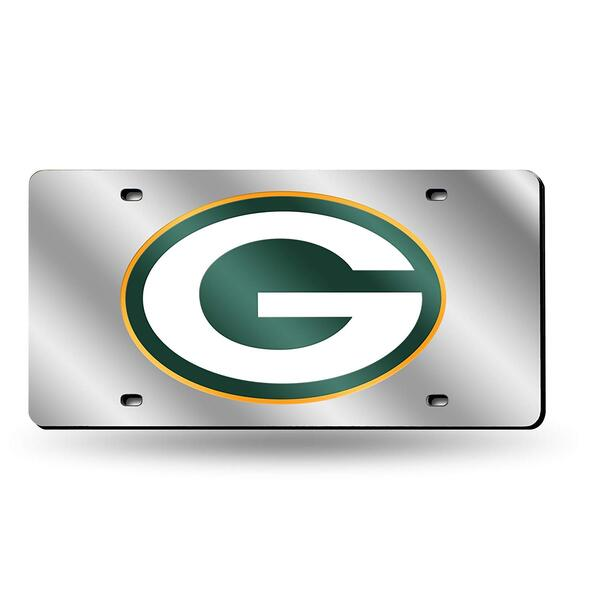 Packers Laser Inlaid Metal License Plate Tag 2019