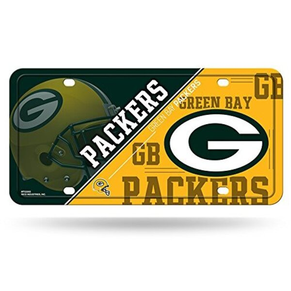 Packers Metal License Plate Tag 2019