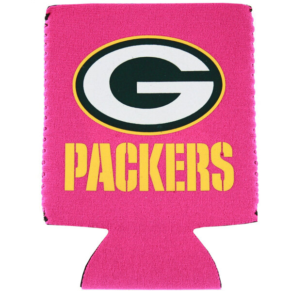 Packers Pink Can Cooler