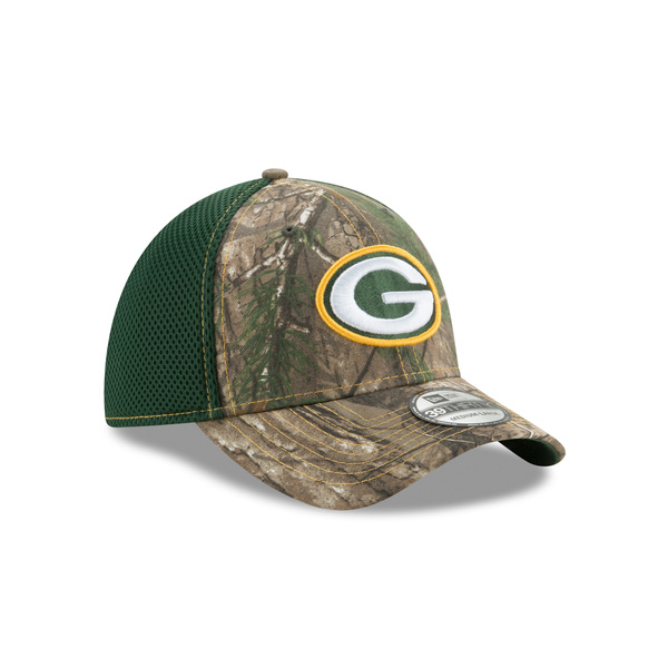 Packers RealTree 39THIRTY Neo Flex Fit Hat