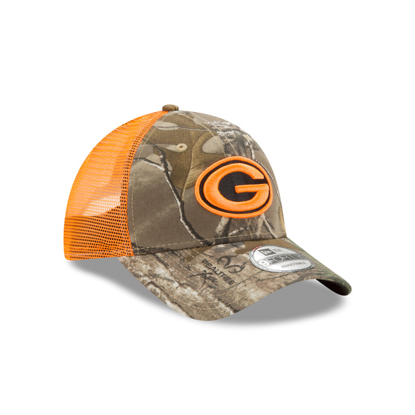 Packers RealTree 9FORTY Trucker Cap