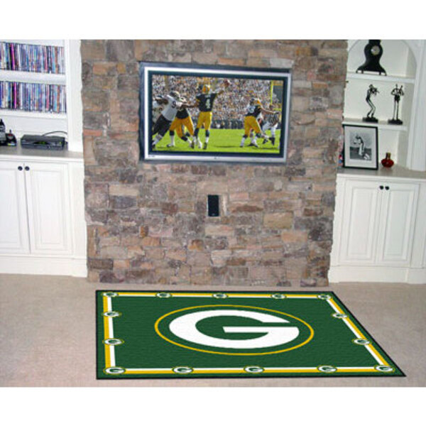 Packers Rug 5' x 8'
