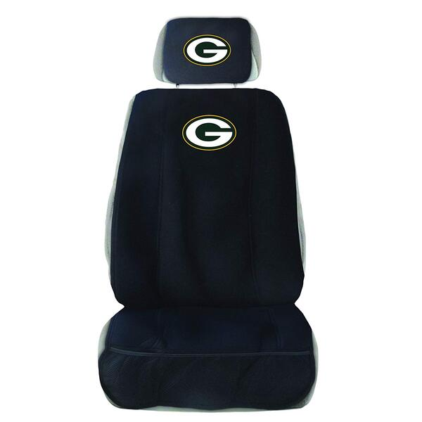 Packers Seat Cover with Head Rest Cover 2019 Image