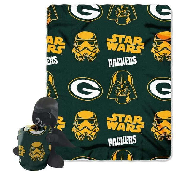 Packers Star Wars Darth Vader Character and Throw Set