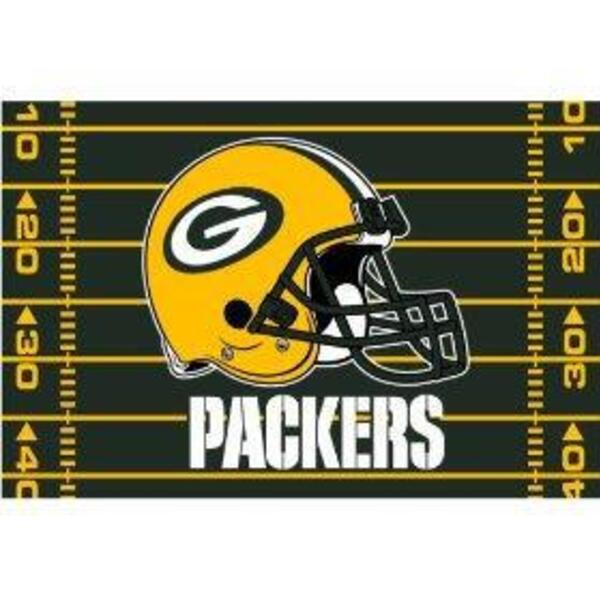 "Packers Tufted Rug - 39"" x 59"""