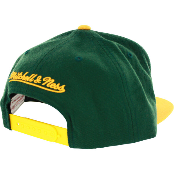 Packers Two-Tone Arch Snapback Cap